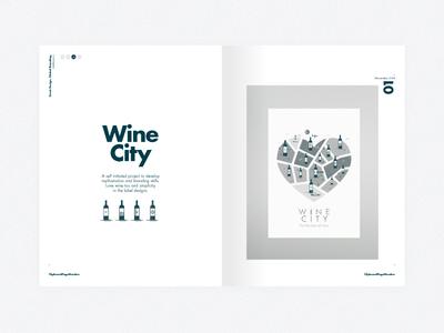 Less is more. Right... [3] illustration print editorial branding layout swiss self promo typography portfolio mono newspaper studio