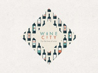For the love of wine // Label design