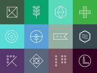 L-I-V-I-N-G icon concepts