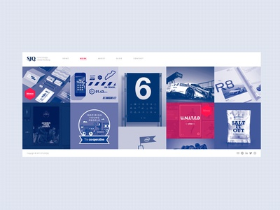Getting there... icon bristol mono ux clean type ui web portfolio studio website