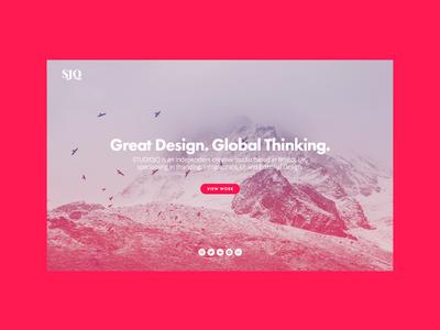 Colour-lover wordpress icon bristol mono ux clean type ui web portfolio studio website