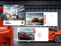 Porsche 911 GT3 RS // Layout development