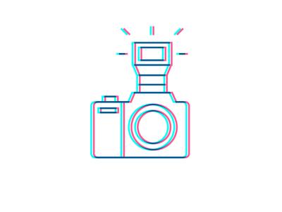 Smile iconset line multiply stroke smile camera icon