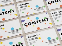 Content Business cards