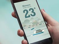 Weather App - Monaco