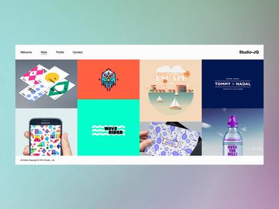 Simplicity is our game website studio portfolio web ui type clean mono bristol icon wordpress simple