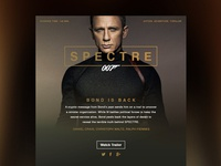 Movie Dashboard // Spectre