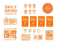 Daily Grind Coffee Co. // Brand development