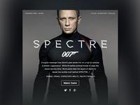 Movie Dashboard // Spectre