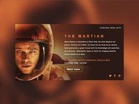 Movie Dashboard // The Martian