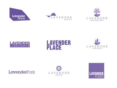 Lavender logomarks
