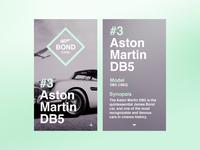 007 Bond Cars Ui