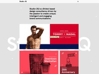 Portfolio layout // Rollover
