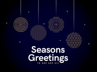 Seasons Greetings - To one and all