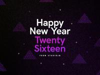 Happy New Year // Twenty Sixteen