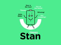 Happy Stan