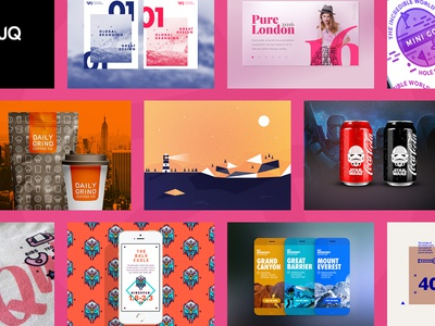 It's worth a shot! Dribbble 2015 Collection shots dribbble portfolio branding icon logo color web ui