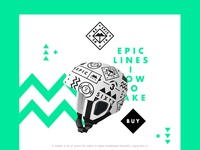 Be Epic. Stay Safe. Landing page