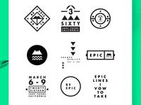 Be Epic. Logomarks