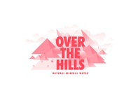 Over The Hills illustration branding type 2015 icons marks logos logo packaging water