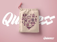 Quincess Drawstring Bag