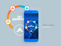 Sky Adventures Menu Ui