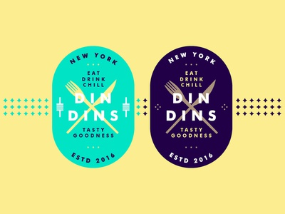 Tasty Goodnees agency newyork type brand branding illustration logo logotype food typography