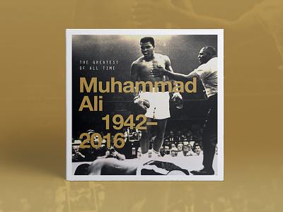 Muhammad Ali legend rip ali muhammad legends type graphic design boxer
