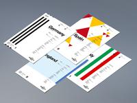 UEFA EURO 2016 Retro Posters