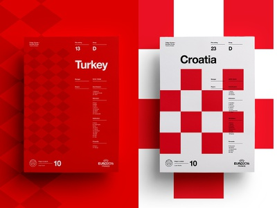 Turkey V Croatia art layout croatia turkey soccer print posters poster football euro