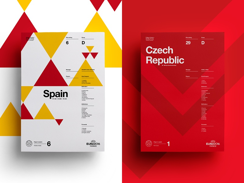 Spain V Czech Republic art layout czech spain soccer print posters poster football euro