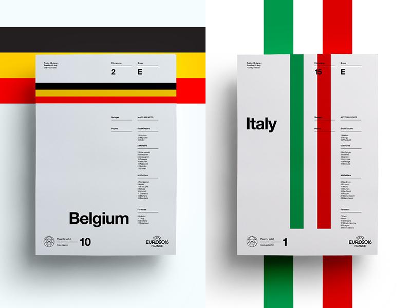 Belgium V Italy art layout italy belgium soccer print posters poster football euro