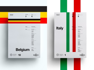 Belgium V Italy art layout italy belgium soccer print posters poster football euro