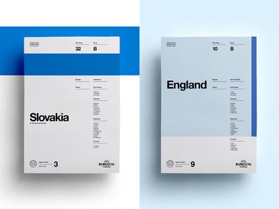 Finish on a high boys: Slovakia V England art layout england slovakia soccer print posters poster football euro
