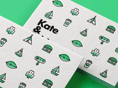 ∆ Fun icons   Part IIII ∆ businesscard illustration icon stroke fun iconset pattern burger camp coffee