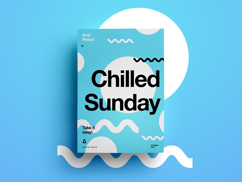 Chilled Sunday And Relax By Madebystudiojq Dribbble