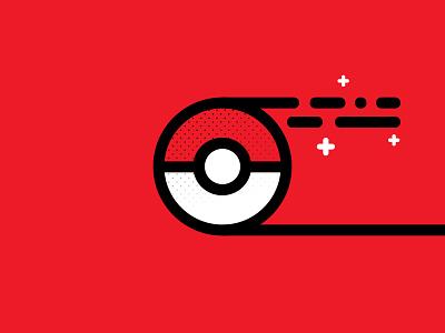 ∆ GO! ∆ vector red pokemon go pokemon pokeball illustration icon