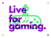 ∆ Live for gaming. ∆