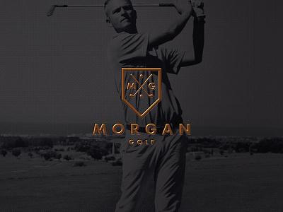 Fourrrrrrrrrrrrr pga golfer mono type logomark golf branding identity logo
