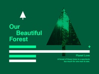 ∆ Planet Love | Our Beautiful Forest ∆