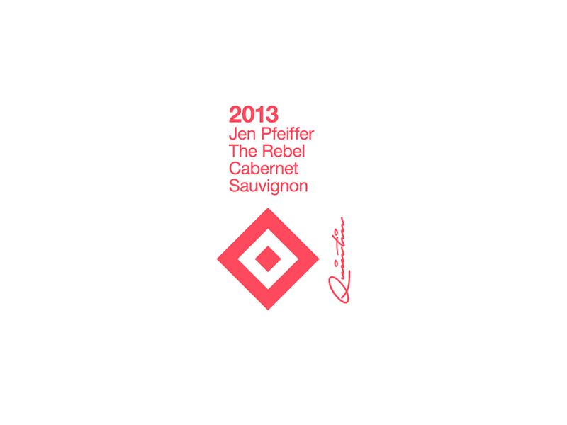 ∆ Wine Label ∆ logo logomark type creative wine label wine designer branding