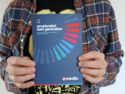 Lead generation brochure with Spot UV spot uv brochure colours