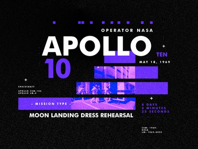 Apollo 10 nasa space type apollo design texture layout spacetravel
