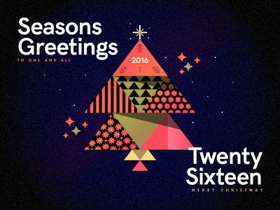 Seasons Greetings - Twenty Sixteen