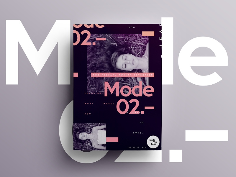 👁Made You Look👁  | 18 | Learn to Love. fashion poster posters 2017 freelance type design creative dribbble moon