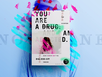 👁Made You Look👁    20   Novacane drug poster posters 2017 freelance type design creative dribbble saturday