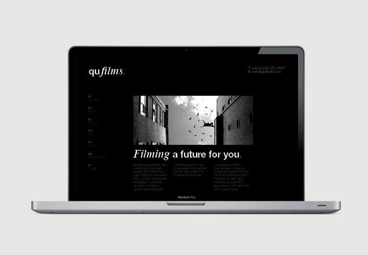 Qufilms website