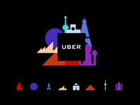 Uber Brand Evolution (Locations)