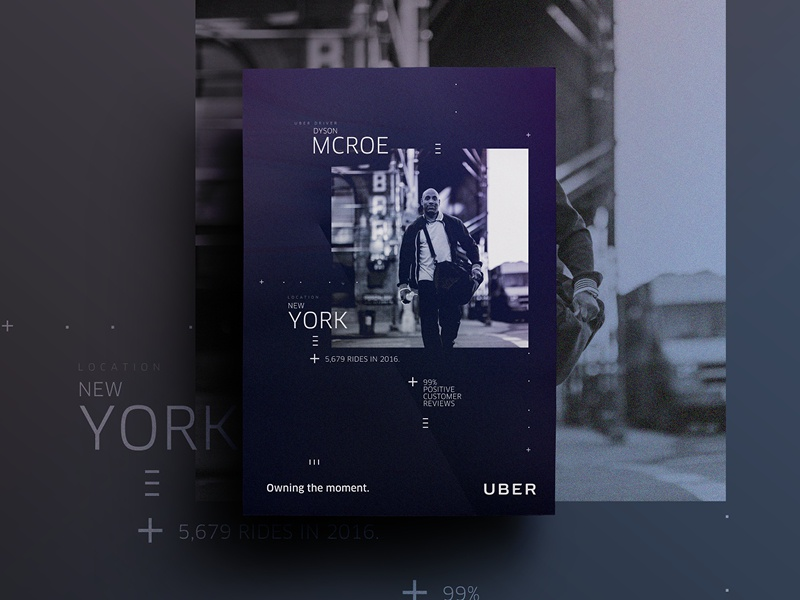 Uber Brand Evolution (Driver Story) poster driver taxi newyork uber illustration icon usa brand branding