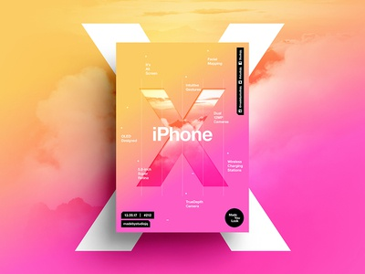 👁Made You Look👁 212 | iPhoneX iphone iphonex beautiful postereveryday poster iphone8 positive swiss typography color design
